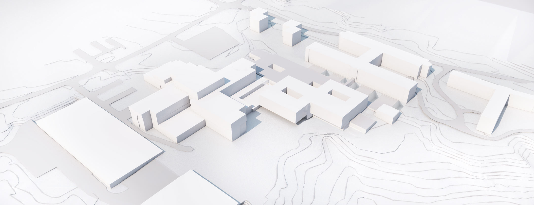 Rummelsberg Umgebungsmodell