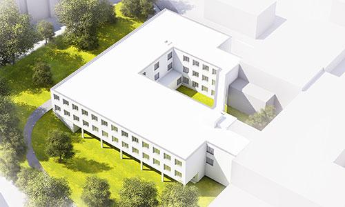 Klinikium Dachau, Modell