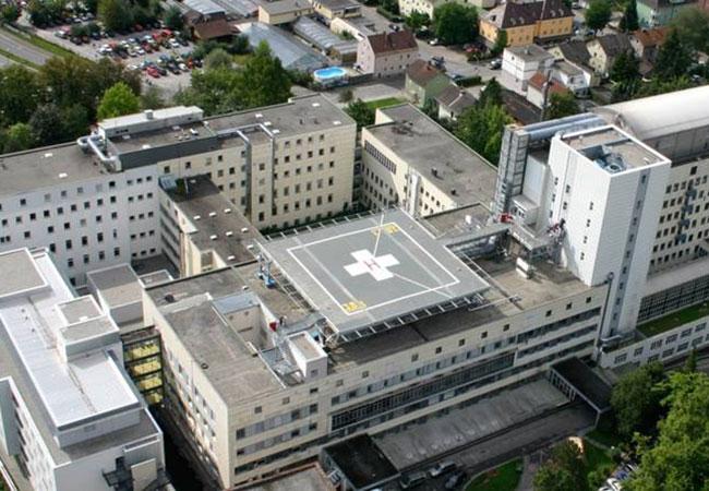 Architekten Rosenheim romed klinik rosenheim dachlandeplatz rrp architekten ingenieure