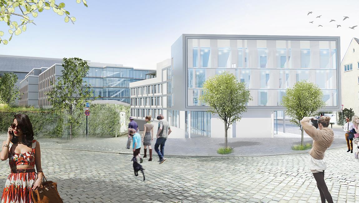 geplantes Ärztehaus am Josefinum Augsburg