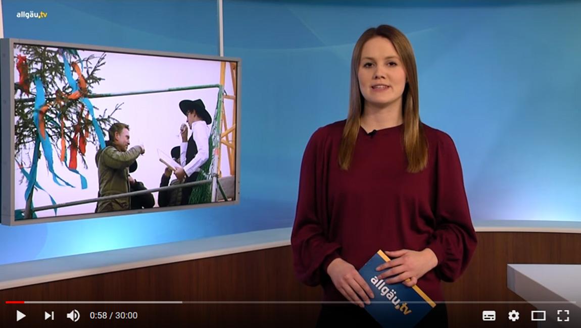 Richtfest in Füssen bei allgäu.tv