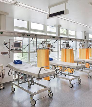 Straubing Medizintechnik Aufwachraum