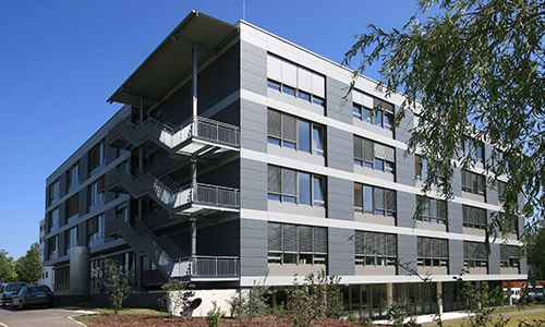 Multifunktionsgebäude Kaufbeuern Aussenansicht