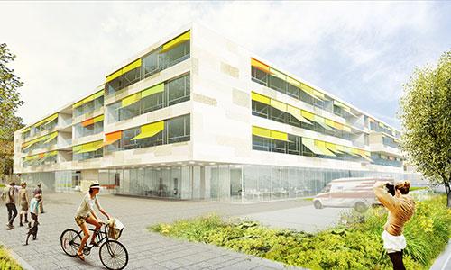 Kinder- und Jugendklinikum Freiburg Außenansicht