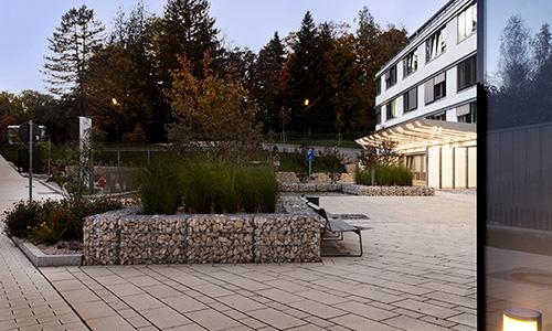 RoMed Klinikum Prien am Chiemsee - Freianlagen