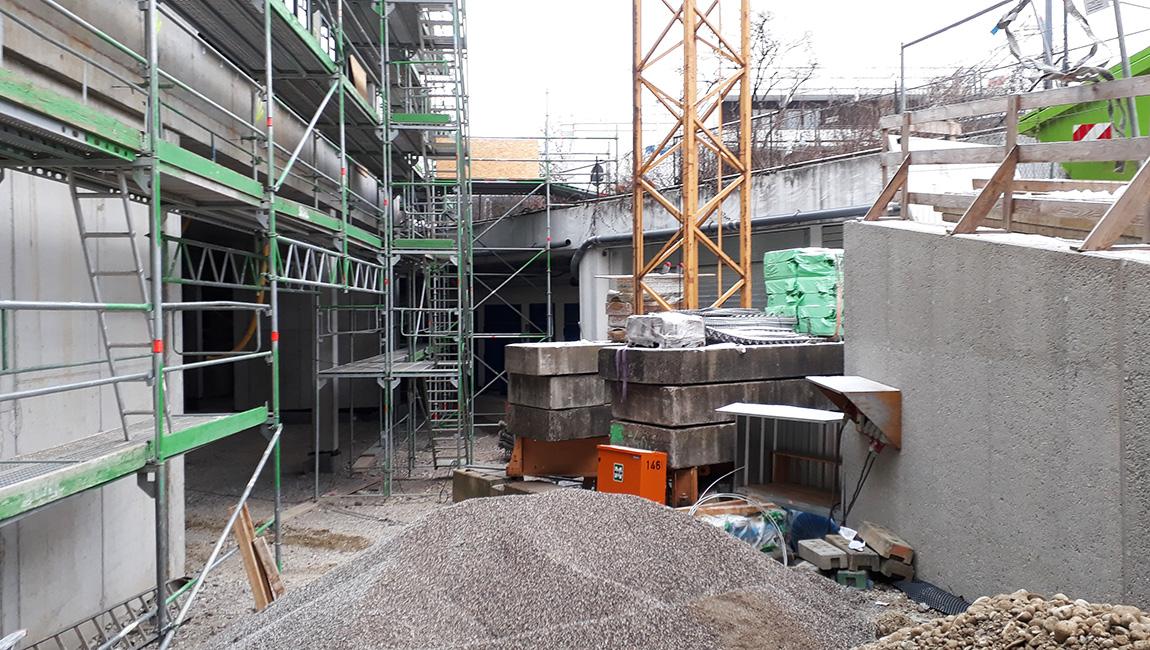 Dachau Baustellenrundgang